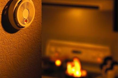 Alarma de gas alarma de fuga para evitar la explosión de gas.