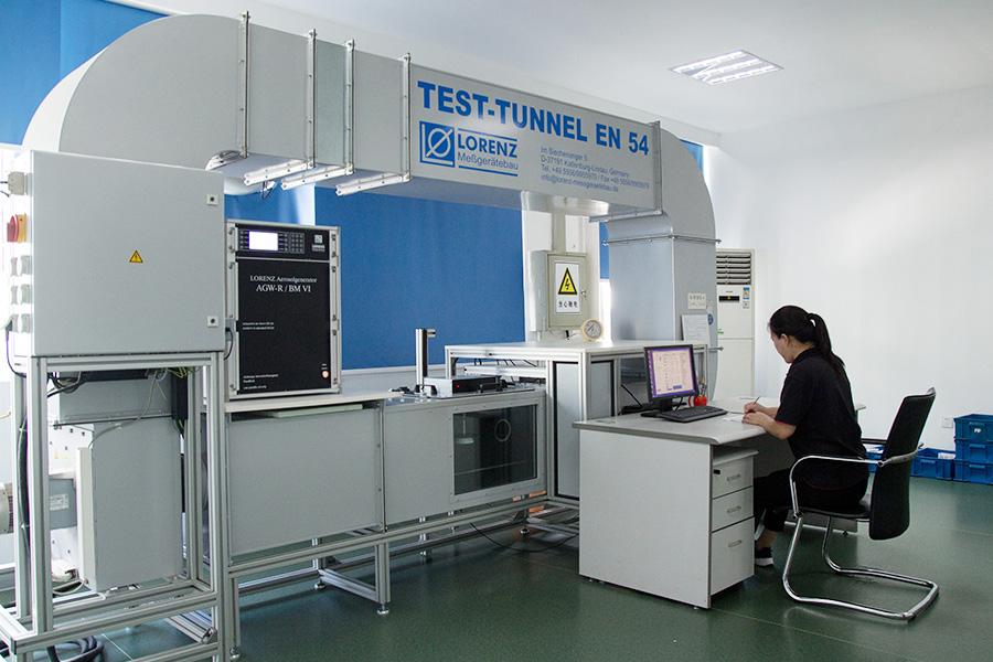 Laboratorio de fabrica